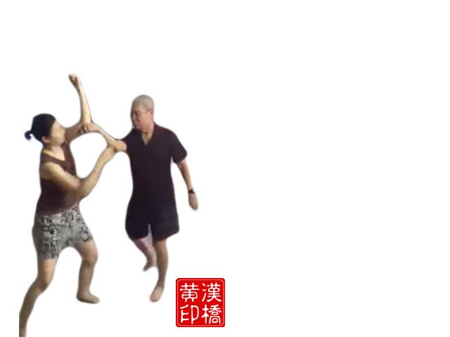 Wong`s TaiJi : 揽雀尾之弸与挤(ward-off & press)