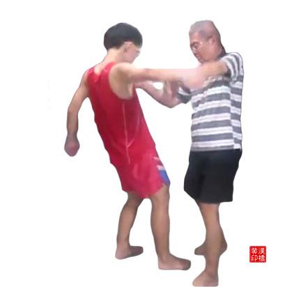 黄家太极之搬拦槌  subdues straight punches