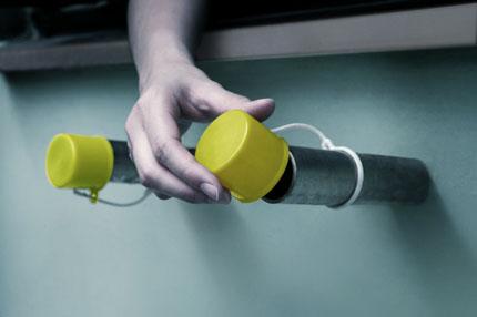 一劳永逸解决组屋晾衣圆筒支架积水的问题