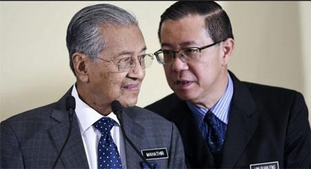时事评论:马哈迪与林冠英《互耍太极》!