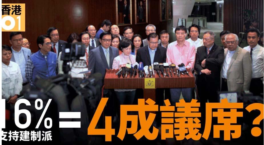 时事评论:香港建制派注定败选