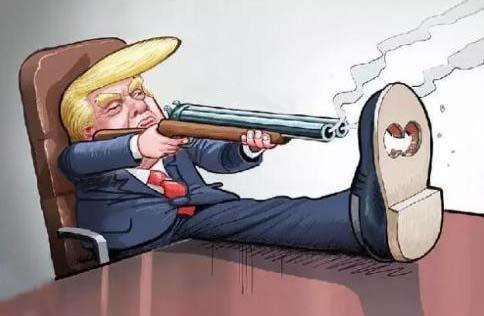 特朗普会否《挺而走险》?